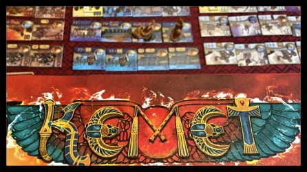 Kemet Board Game Review Components
