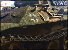 Canadian War Museum Panther with Zimmermit