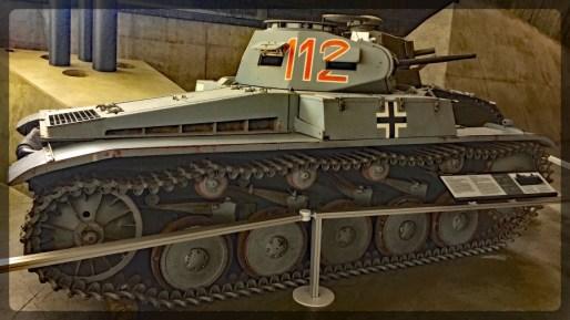 Canadian War Museum Panzer 2C from Africa