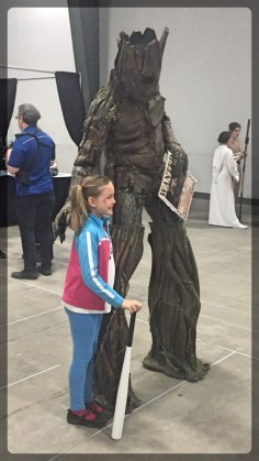 Ottawa Comiccon Costumes Cosplay Groot