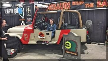 Ottawa Comiccon Jurassic Park Movie Jeep