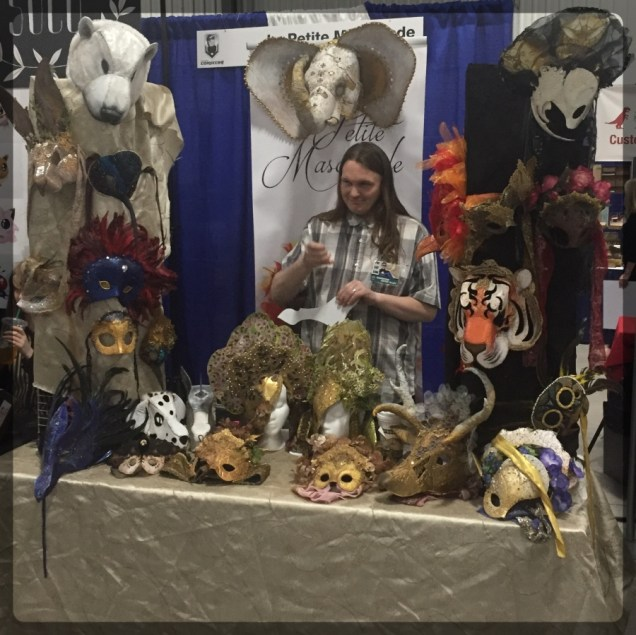 Ottawa Comiccon Artist Alley Mask Masquerade