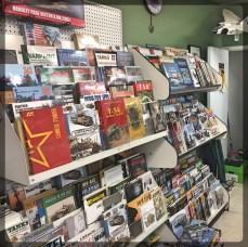 Hornet Hobbies Book Magazine Racks