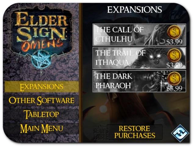 Elder Sign Omens In App Purchases