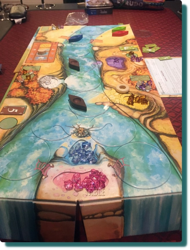 Niagara Board Game Up River View