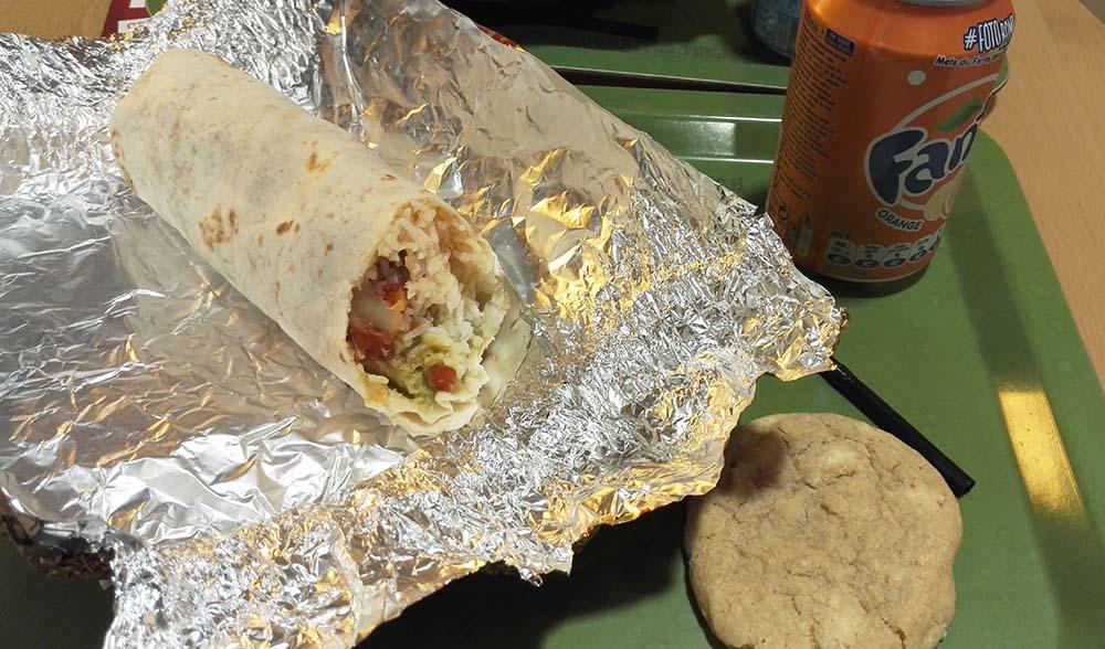 """Burrito """"El Classico"""" de chez Fresh Burritos"""