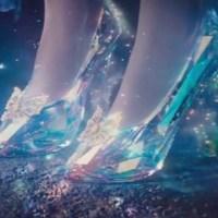Les souliers magiques des contes de fées.