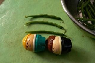 菜園通信・インゲン豆