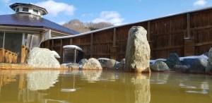 北海道の温泉 パシフィック温泉ホテル清龍園 源泉かけ流し 女子露天風呂 目線