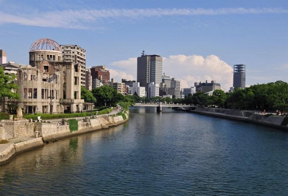 Japon, Chûgoku, Hiroshima, centre ville, Atomic Bomb Dome
