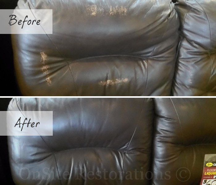 how to fix damaged leather sofa. Black Bedroom Furniture Sets. Home Design Ideas