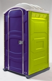 Portable Toilet Purple Lime
