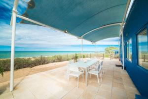 Mackerel Islands Beachfront Cabin