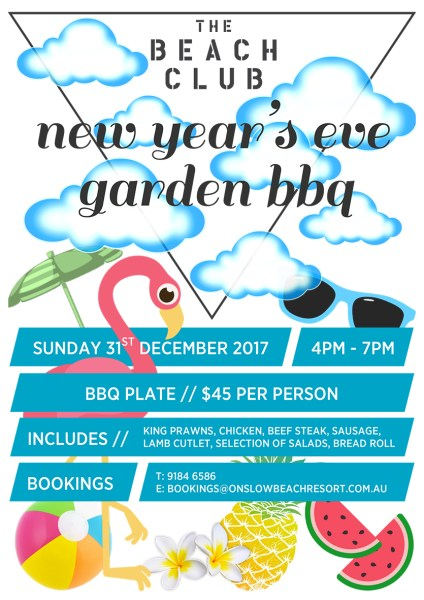 new years eve onslow karratha exmouth hedland pilbara north west