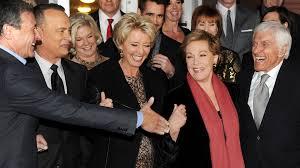 autre image de la première avec Emma Thompson, Julie Andrews, Tom Hanks et Dick Van Dyke