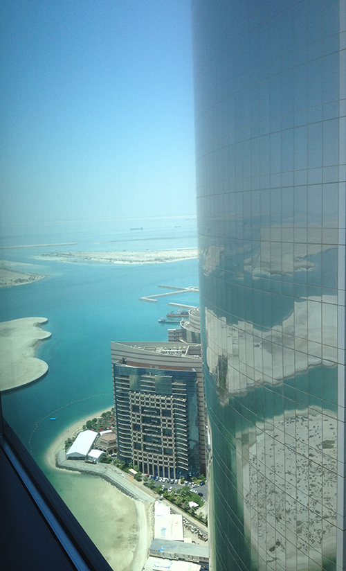 vue du 44èeme étage