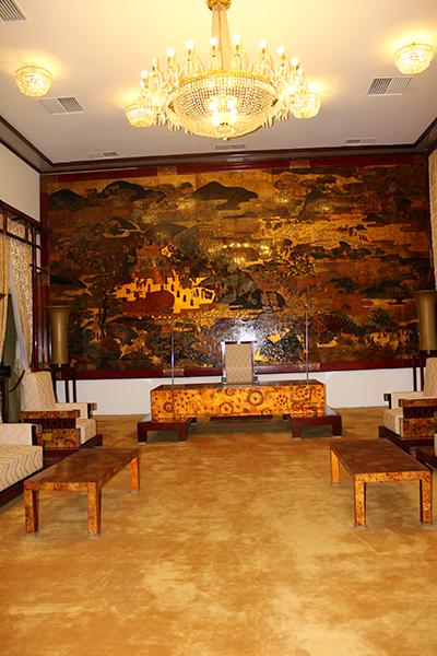Une salle du Palais de la Réunification