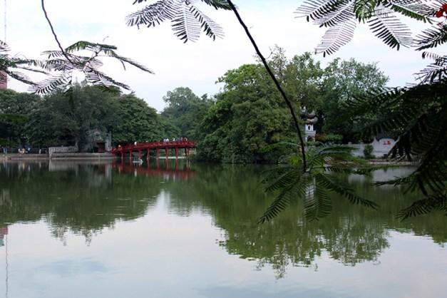 vue du Lac d'Hanoï