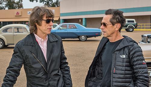 Mick Jagger et Tate Taylor