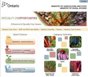 Specialty Cropportunities