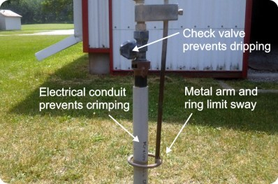 Figure 4 – The improved drop arm