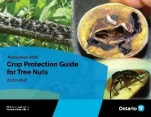 The front cover of OMAFRA Publication 360E Crop Protection Guide for Tree Nuts 2020-2021
