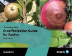 The front cover of Publication 360A Crop Protection Guide for Apples 2020-2021