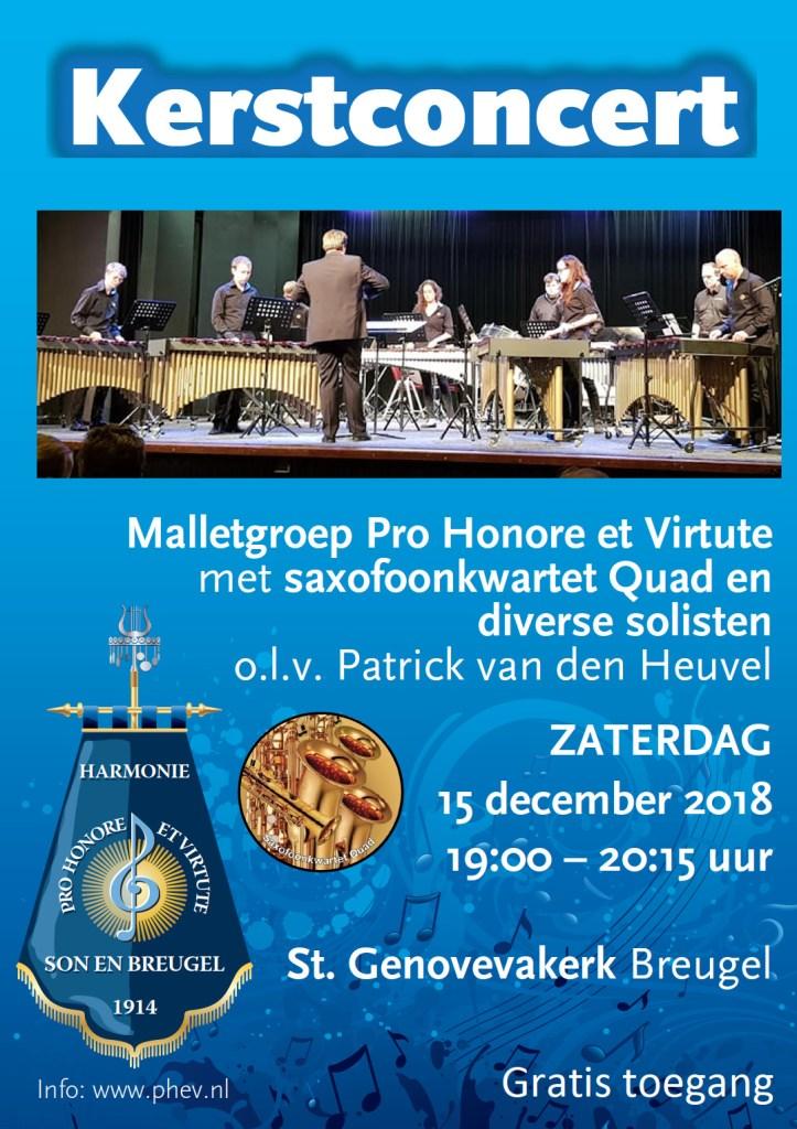 Kerstconcert Malletgroep Pro Honore et Virtute