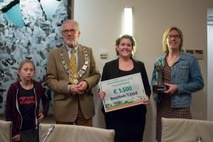 Buurttuin 't Zand wint duurzaamheidsprijs Frans Zaal-bokaal 2018