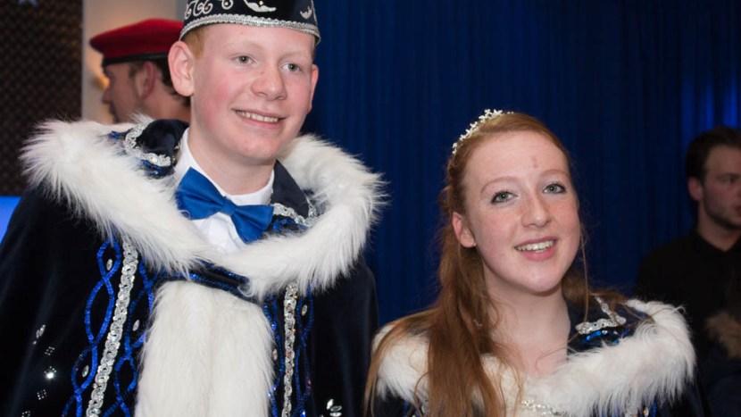 Dit zijn jeugdprins Jeroen en jeugdprinses Lieke