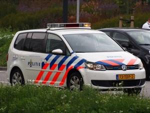 Politie politiewagen politieauto