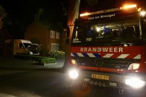 Bestelbus vermoedelijk in brand gestoken in Wilhelminalaan