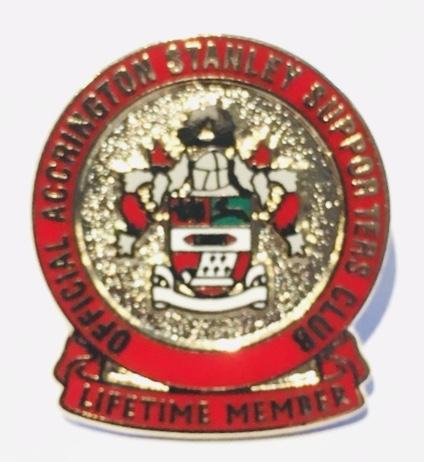 Lifetime membership badge