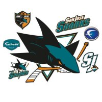 Fathead NHL San Jose Sharks Wall Decal | On Star Wars