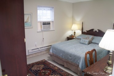 Air Conditioned Bedroom with linens