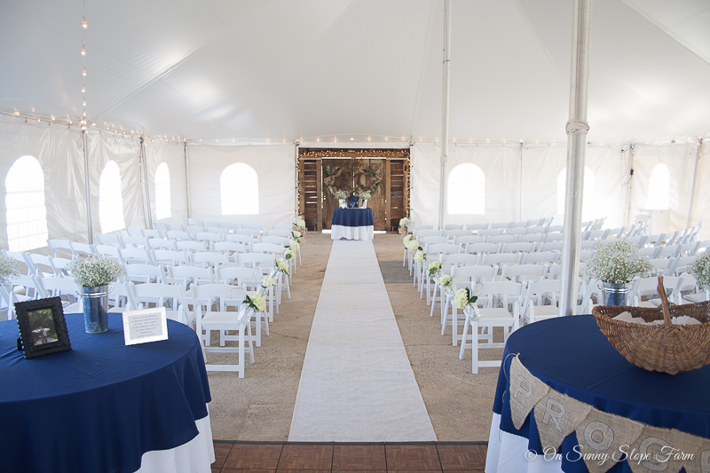 Wedding Venue with event tent