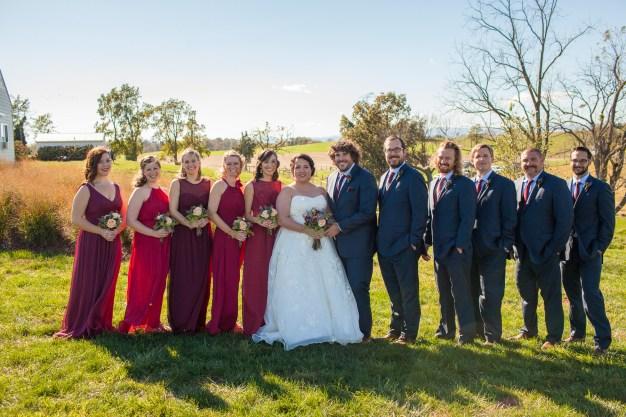 Mary + Patrick Wedding On Sunny Slope Farm Wedding Venue by Feather & Oak Photography (17 of 31)