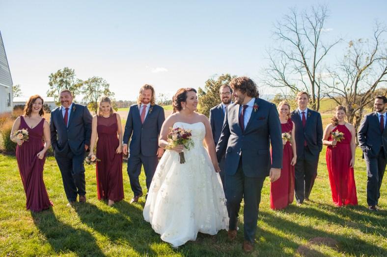 Mary + Patrick Wedding On Sunny Slope Farm Wedding Venue by Feather & Oak Photography (18 of 31)