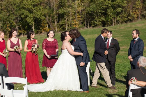 Mary + Patrick Wedding On Sunny Slope Farm Wedding Venue by Feather & Oak Photography (20 of 31)