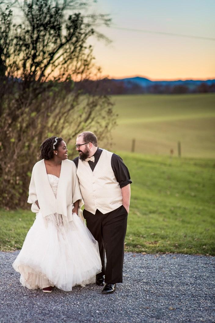 Lauren & Kyle November 10, 2018 Wedding On Sunny Slope Farm Harrisonburg Virginia-14