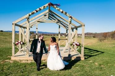 Lauren & Kyle November 10, 2018 Wedding On Sunny Slope Farm Harrisonburg Virginia-4
