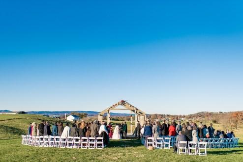 Lauren & Kyle November 10, 2018 Wedding On Sunny Slope Farm Harrisonburg Virginia-7