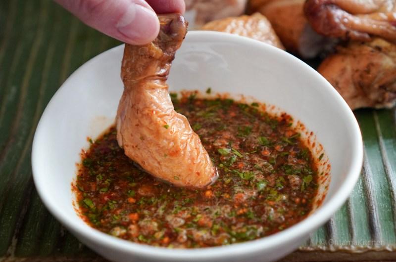 ナムジムジョウ (Thai Dried Chilli Sauce/น้ำจิ้มแจ่ว)