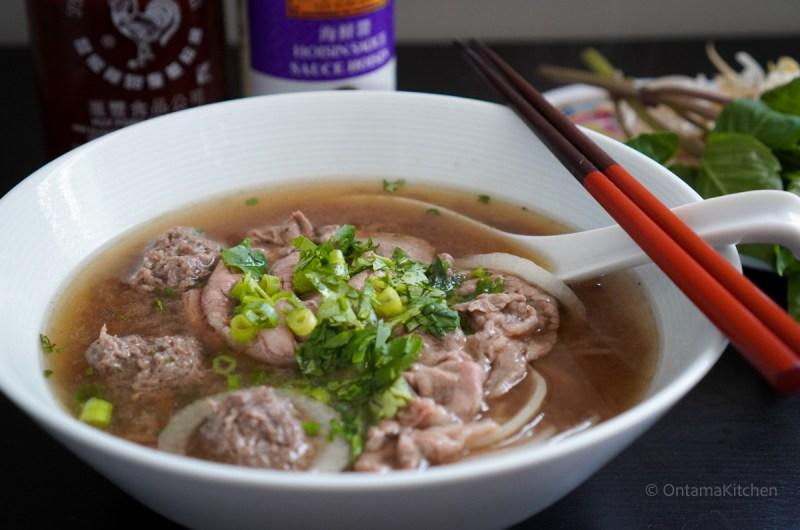 牛肉のフォー (Pho Bo)