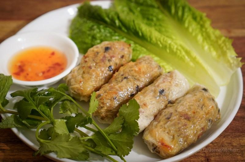 ベトナム風揚げ春巻き【ノンフライヤー調理】(Vietnamese Fried Spring Roll/Chả Giò)