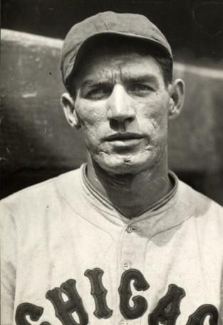 Cubs second baseman Footsie Blair.