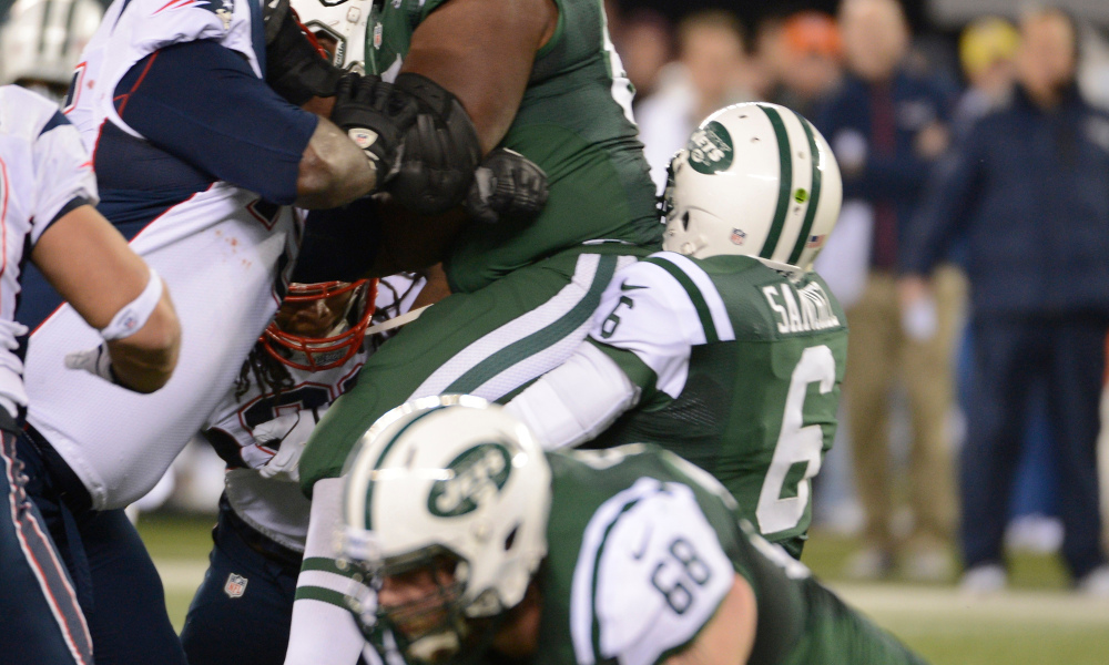 Jets Butt Fumble