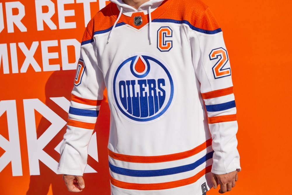 Edmonton Oilers Reverse Retro Jersey