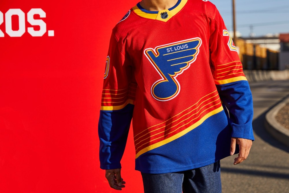 St. Louis Blues Reverse Retro Jersey