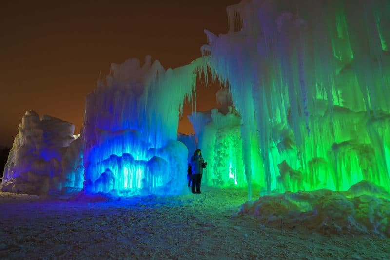 Lake Geneva Ice Castles